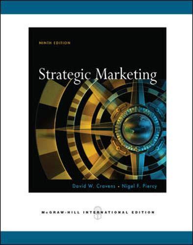 9780071263351: Strategic Marketing