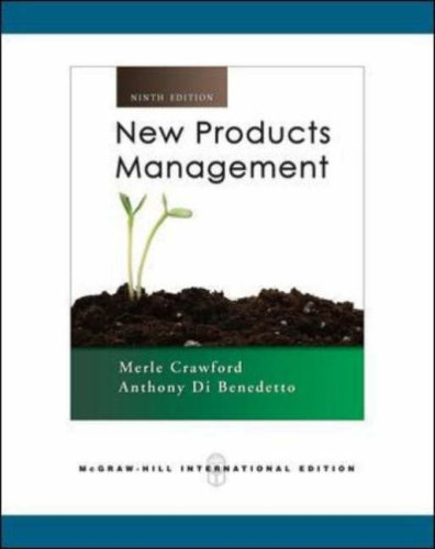9780071263368: New Products Management.