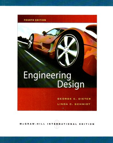 9780071263412: Engineering Design: A Materials and Processing Approach. (Engineering Series)