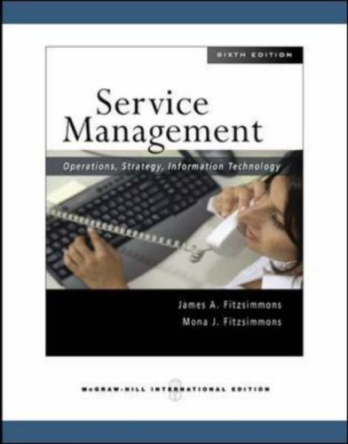 9780071263467: Service Management: Operations, Strategy, Information Technology