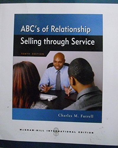 9780071263504: ABCs of Relationship Selling