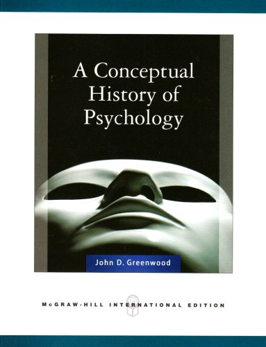 9780071263535: Conceptual History of Psychology