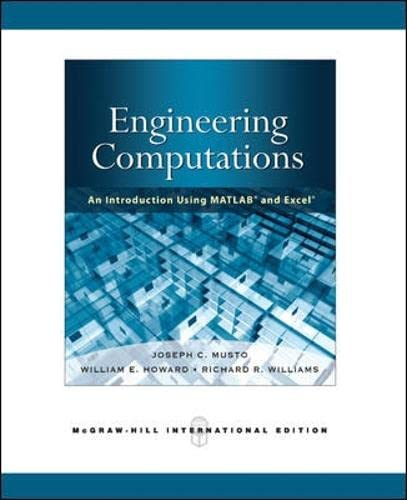 9780071263573: Engineering Computation: An Introduction Using MATLAB and Excel