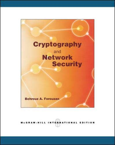 9780071263610: Cryptography and Network Security