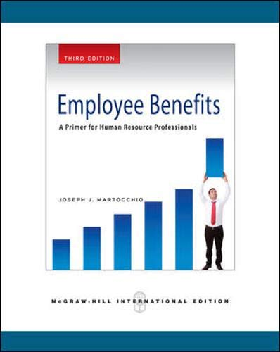 9780071263665: Employee Benefits