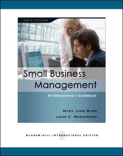 9780071263689: Small Business Management: An Entrepreneur's Guidebook