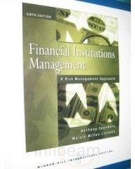 9780071263849: Financial Institutions Management