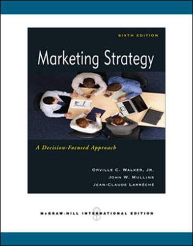 9780071263917: Marketing Strategy: A Decision Focused Approach