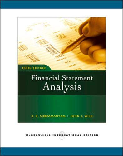 9780071263924: Financial Statement Analysis