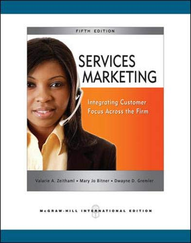 9780071263931: Services Markeing 5Ed (Ie) (Pb 200)