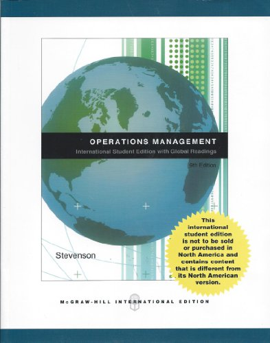 9780071265249: Operations Management: Alternate Version