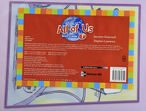 9780071265652: ALL OF US STORY CARDS 1