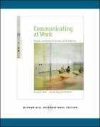 9780071265751: Communicating at Work: Principles and Practices for Business and the Professions