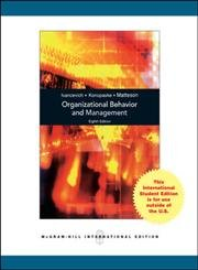 9780071265850: Organizational Behavior and Management (International Edition) Edition: eighth