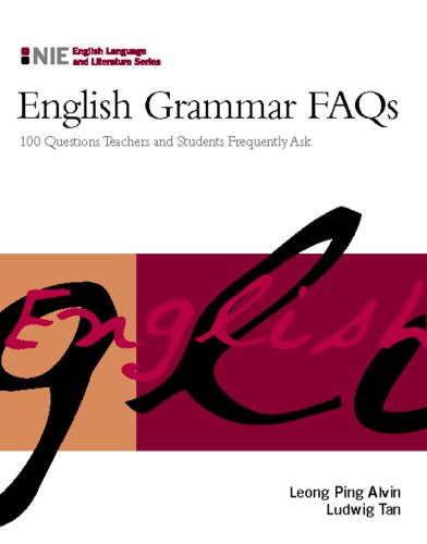 9780071266123: English Grammar FAQs: 100 Questions Teachers and Students Frequently Ask