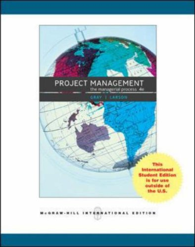 9780071266260: Project Management: AND MS Project CD: The Managerial Process