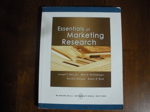9780071266345: Essentials of Marketing Research