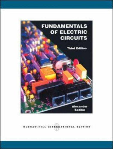 9780071266475: Fundamentals of Electric Circuits