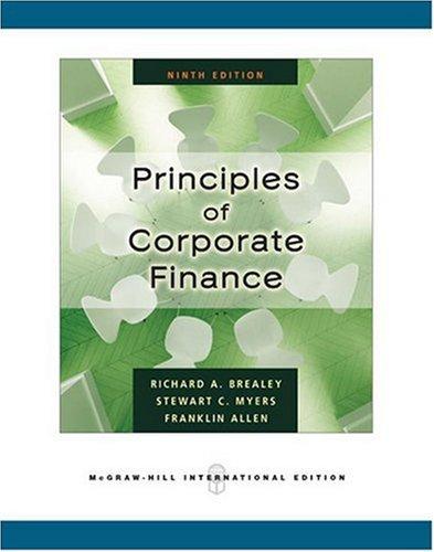 9780071266758: Principles of Corporate Finance