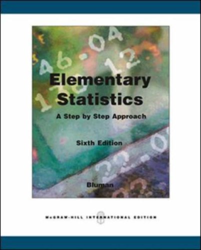 9780071267038: Elementary Statistics: A Step by Step Approach