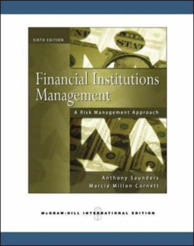 9780071267045: Financial Institutions Management: A Risk Management Approach.