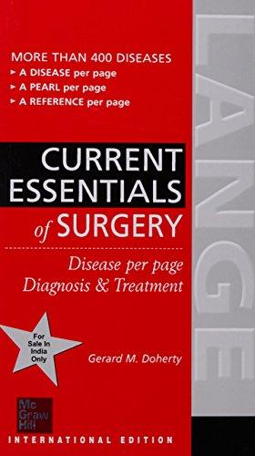 9780071267090: Lange Current Essentials of Surgery