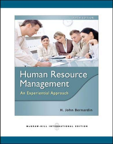 9780071267472: Human Resource Management