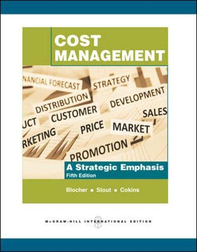 9780071267489: Cost Management: A Strategic Emphasis