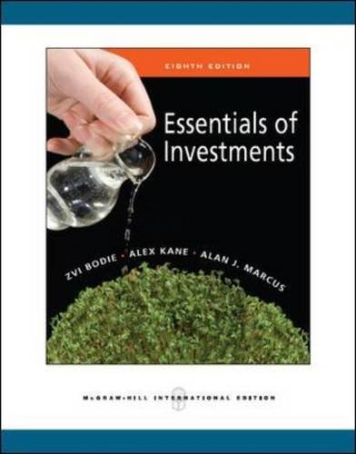 9780071267496: Essentials of investements