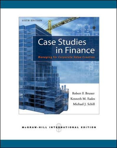 9780071267526: Case Studies in Finance