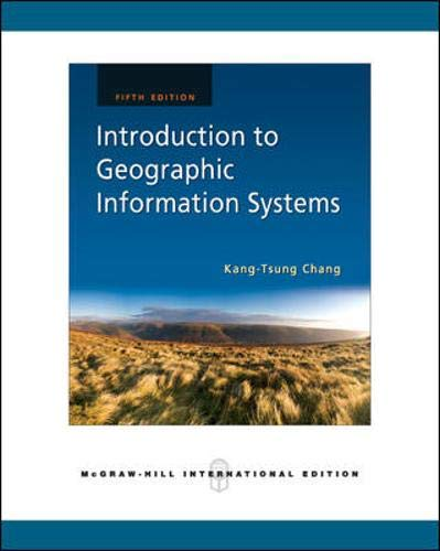 9780071267588: Introduction to Geographic Information Systems