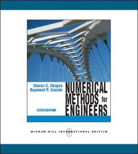 9780071267595: Numerical Methods for Engineers (Int'l Ed)