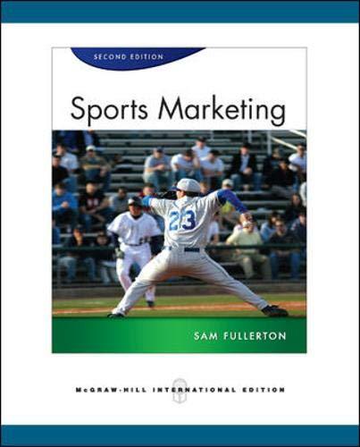 9780071267632: Sports Marketing