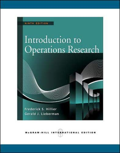 9780071267670: Introduction to Operations Research