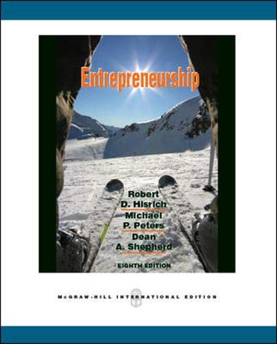 9780071267687: Entrepreneurship