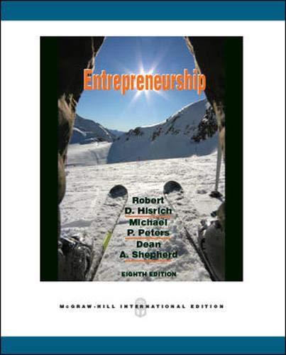 9780071267687: Entrepreneurship
