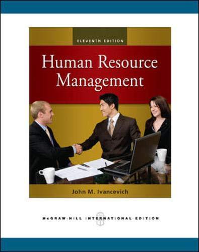 9780071267700: Human Resource Management