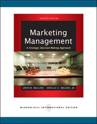 9780071267762: Marketing Management: A Strategic Decision-Making Approach