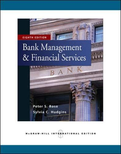 9780071267878: Bank Management & Financial Services