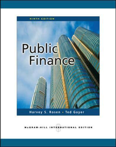9780071267885: Public Finance