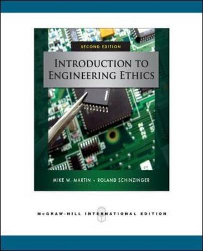 9780071267908: Introduction to Engineering Ethics