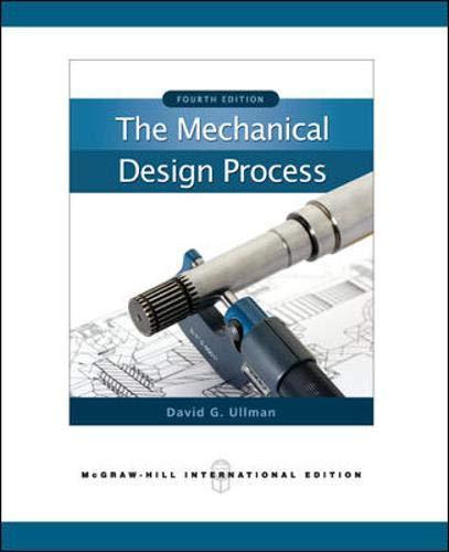 9780071267960: The Mechanical Design Process (Int'l Ed)