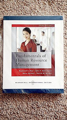 9780071268080: Fundamentals of Human Resource Management