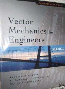 9780071268714: Vector Mechanics for Engineers. Statics (Si Units)