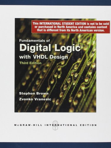 9780071268806: Fundamentals of Digital Logic with VHDL Design with CD-ROM (Int'l Ed)