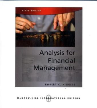 9780071268820: Analysis for Financial Management