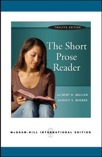 9780071269230: The Short Prose Reader (book alone)