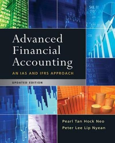 9780071269339: Advanced Financial Accounting Updated Edition