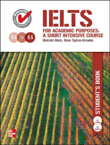 9780071269513: IELTS for Acadamic Purposes: Student Book WCD-Rom ( IELTS academic goals -6.5 kill )