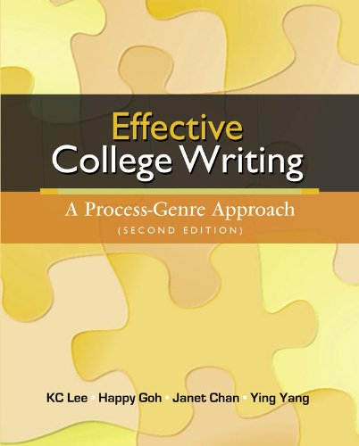 9780071269612: Effective College Writing: A Process-Genre Approach